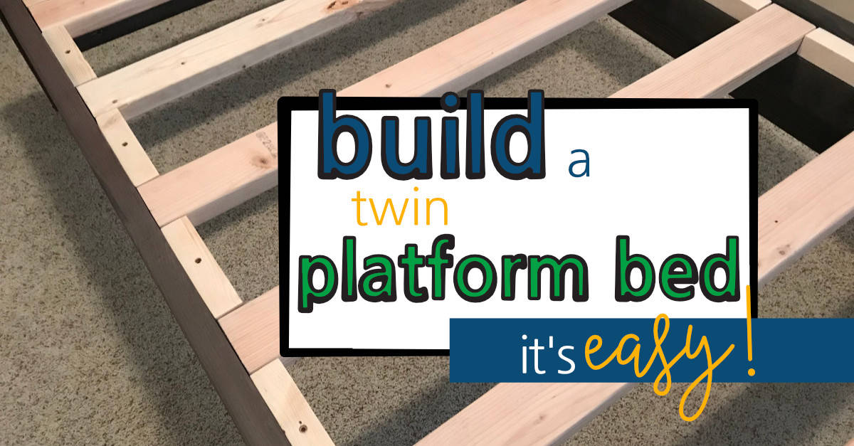Build a Twin Platform Bed
