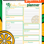 Use this Baby Shower Planner to host a Baby Shower with confidence!