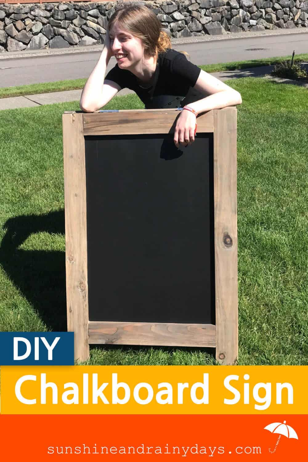 Build a chalkboard sign!