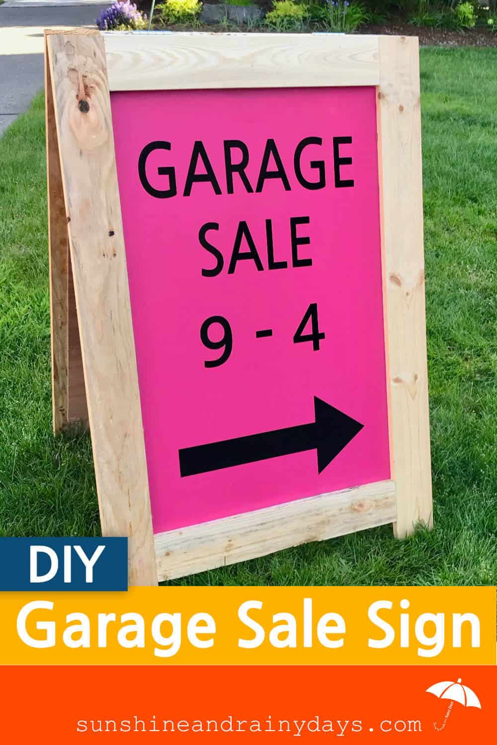 How To Make A Garage Sale Sign