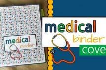 Medical Binder Cover And Spine