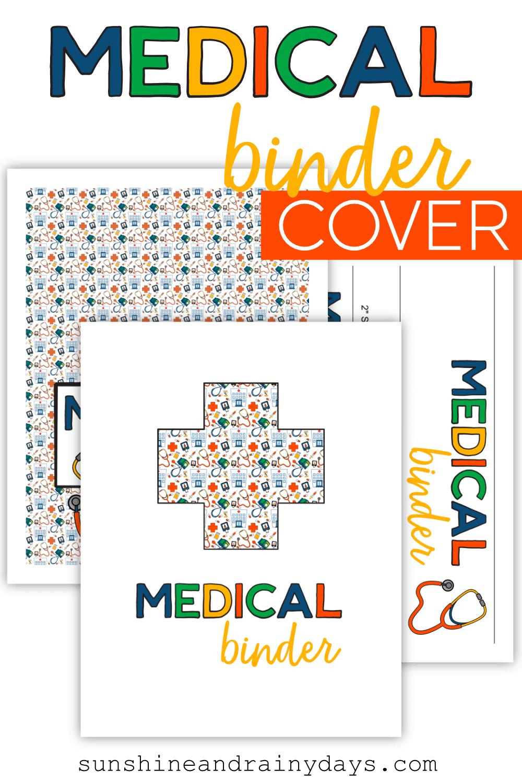 Medical Binder Cover Printables