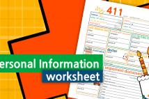 Personal Information Worksheet – In Case Of Emergency
