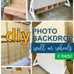 DIY Foldable Photo Backdrop Wall