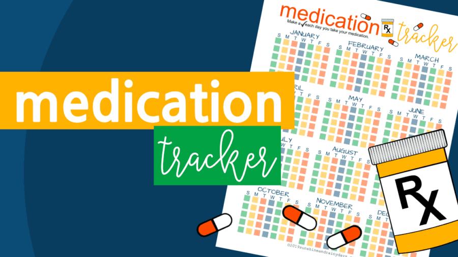 Medication Tracker Printable