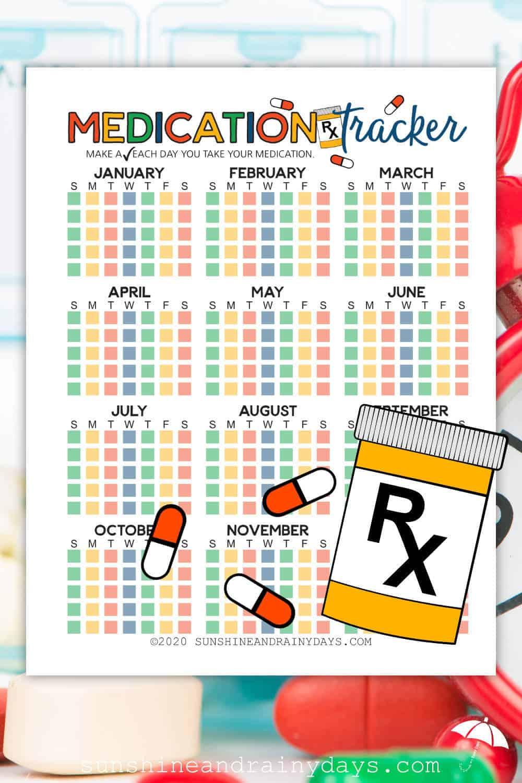 Printable Medication Tracker