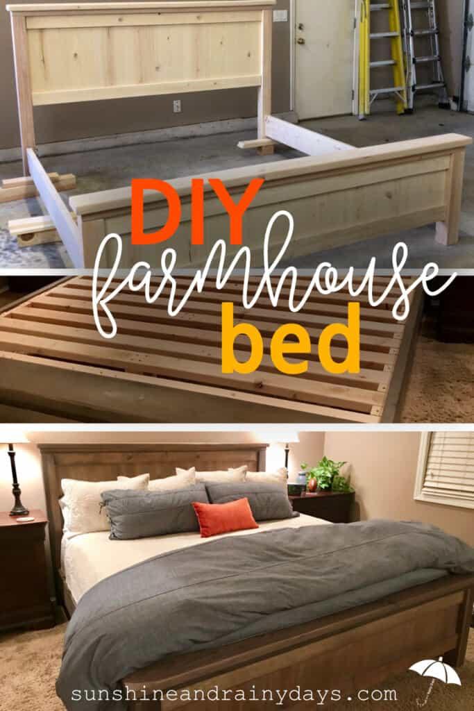 Ana White Farmhouse Bed