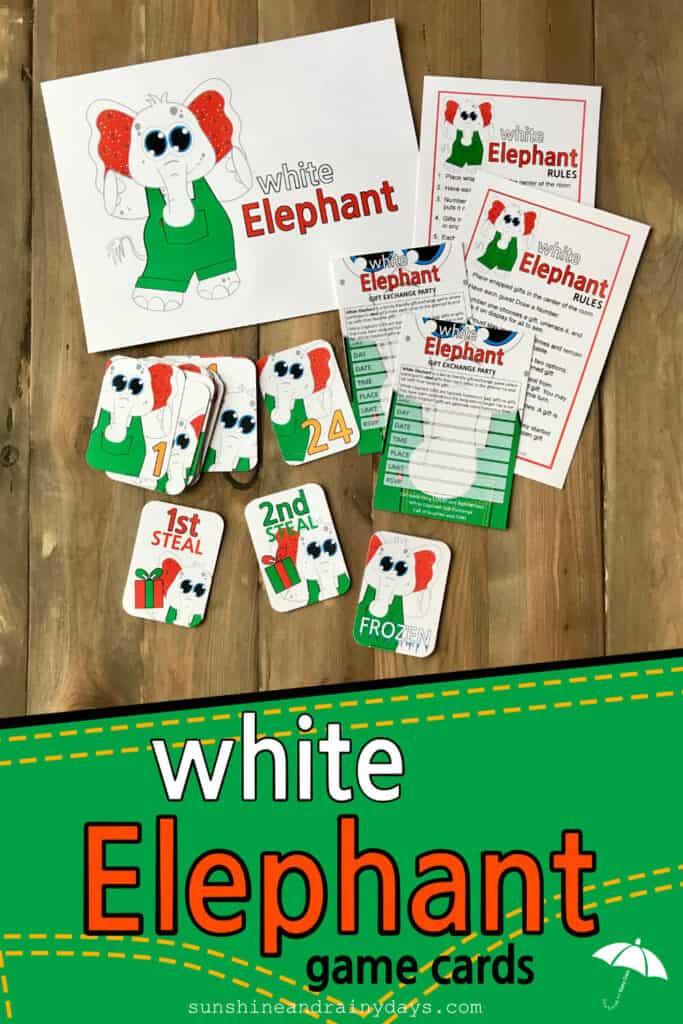 White Elephant Gift Exchange Game