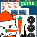 Toilet Paper Snowman Game Printables