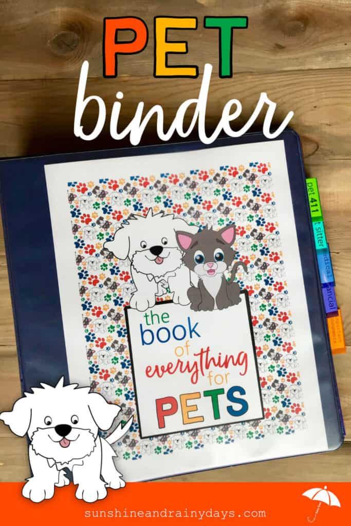 Pet Binder