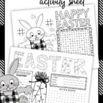 Easter Activity Sheet