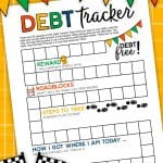 Debt Tracker Printable