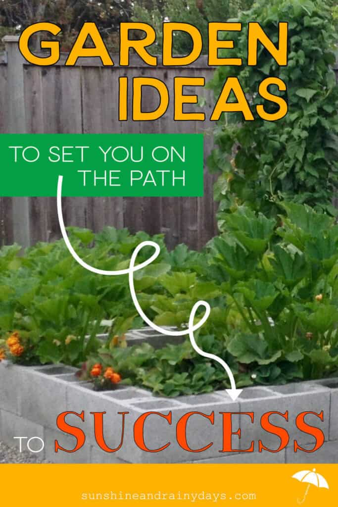 Garden Ideas To Set You On The Path For Success