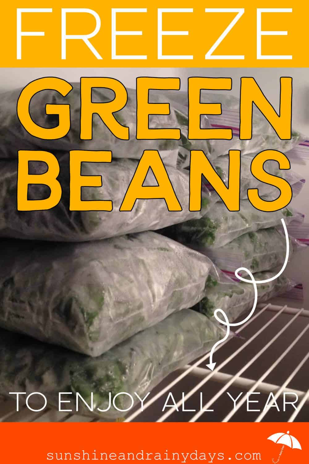 How To Freeze Green Beans To Enjoy All Year