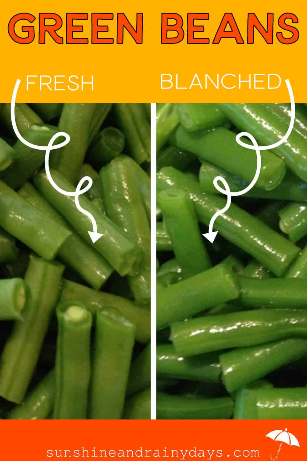 Blanch Your Green Beans To Freeze Them