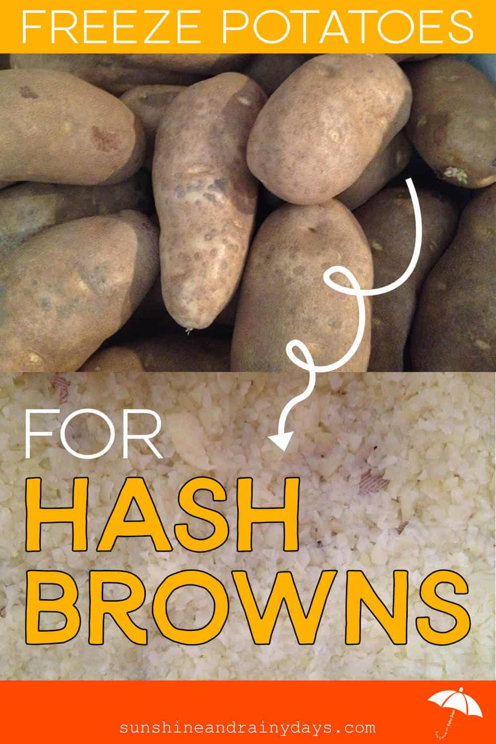 How To Make Homemade Hash Browns To Freeze