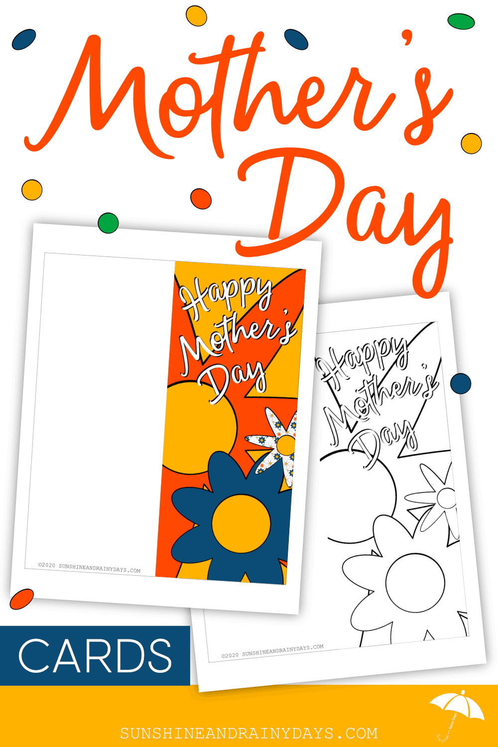 Mother's Day Card To Print At Home