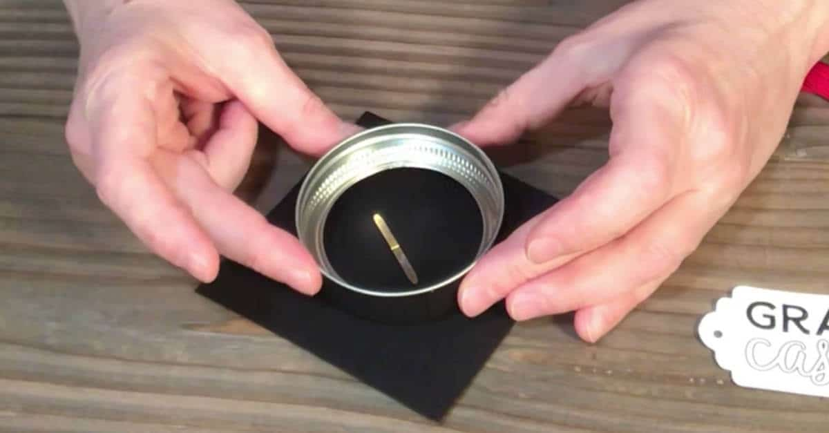 Making a Graduation Cap on a jar ring
