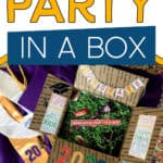 Graduation Party In A Box - A box full of Graduation Gifts and Party Supplies