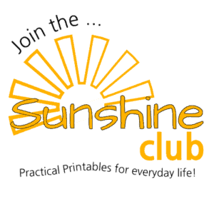 Join The Sunshine Club!