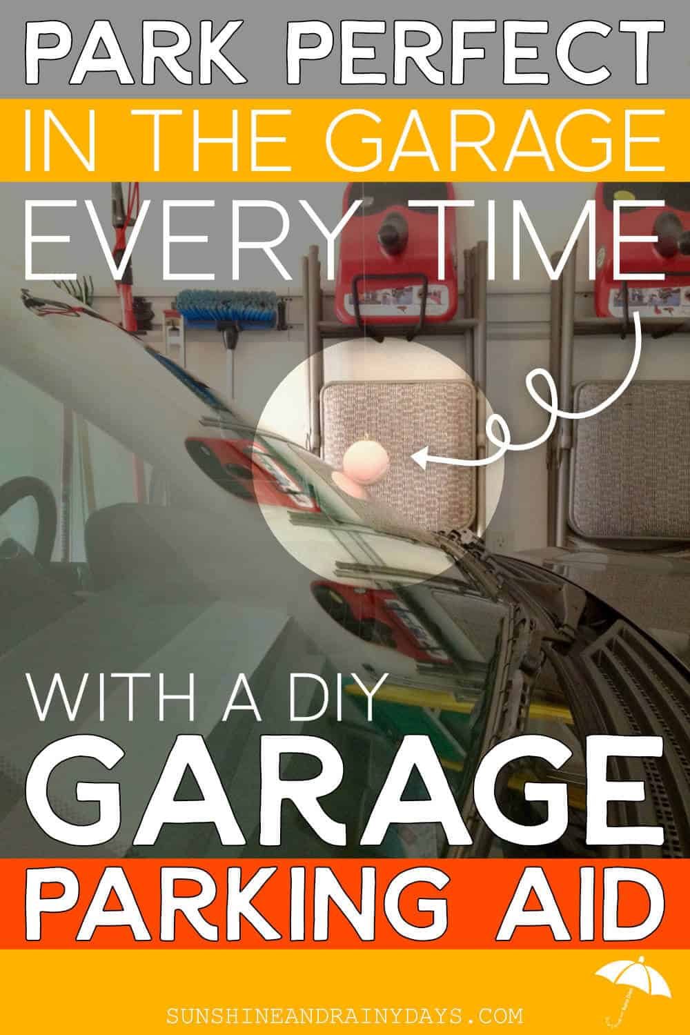 Homemade Garage Parking Aid