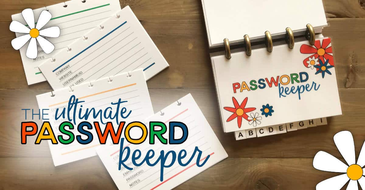 Ultimate Discbound Password Keeper