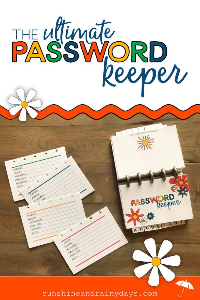 Discbound Password Keeper
