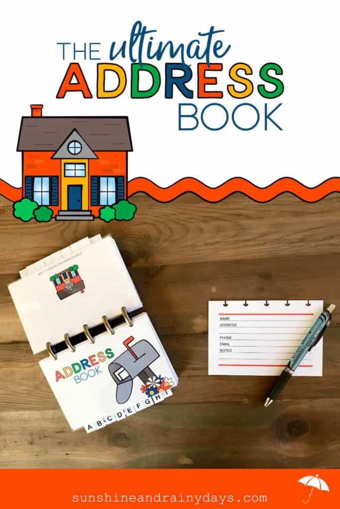 Discbound Address Book