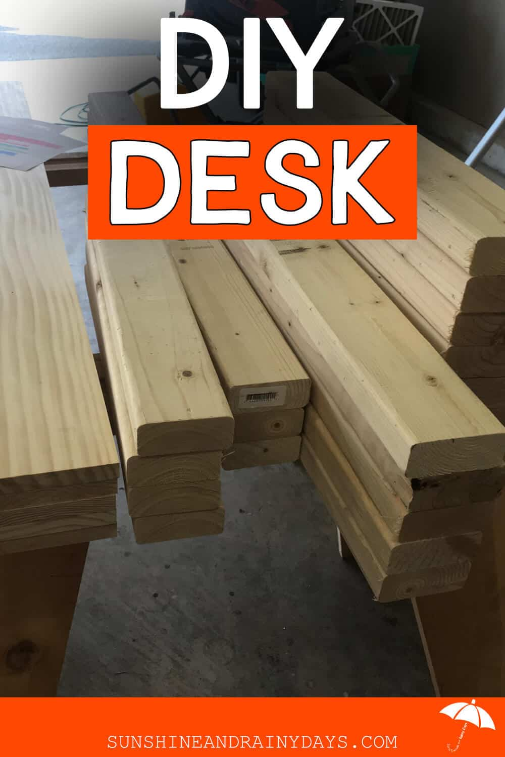 Wood For DIY Desk