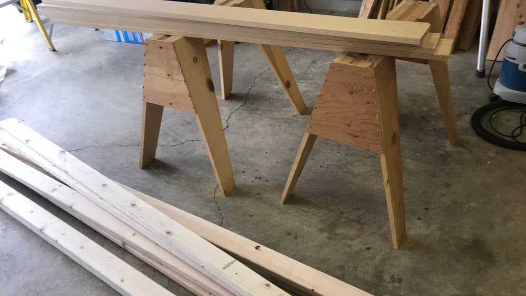 Lumber For A DIY Desk