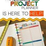 Detailed Project Planner Worksheet
