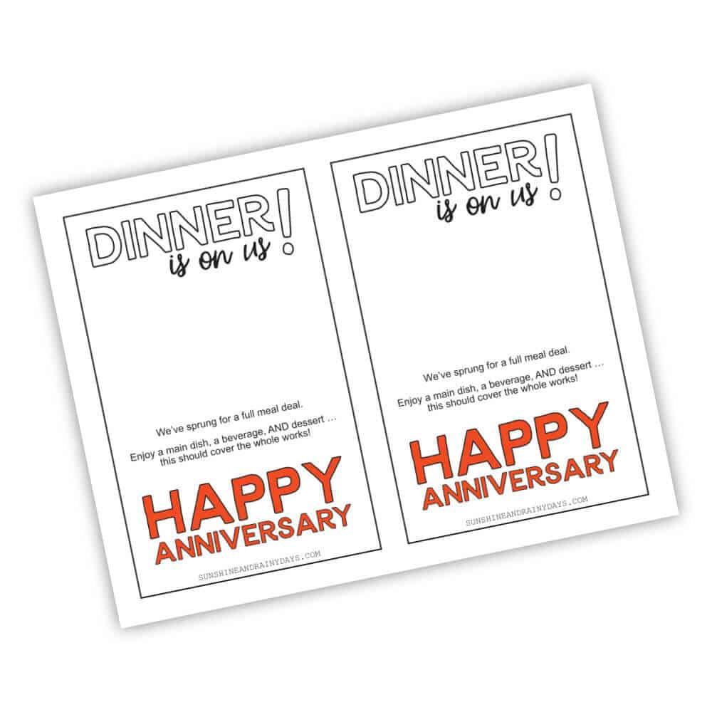Happy Anniversary Costco Gift Card Holder