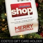 Costco Gift Card Holder Printable