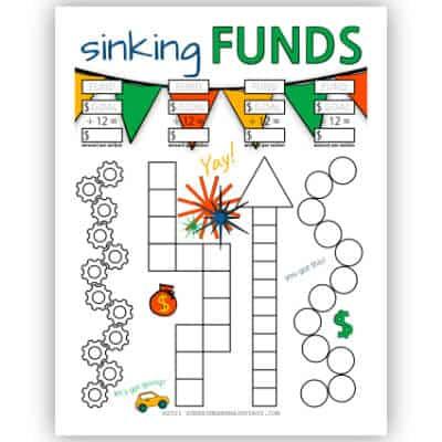 12 Month Sinking Fund Tracker