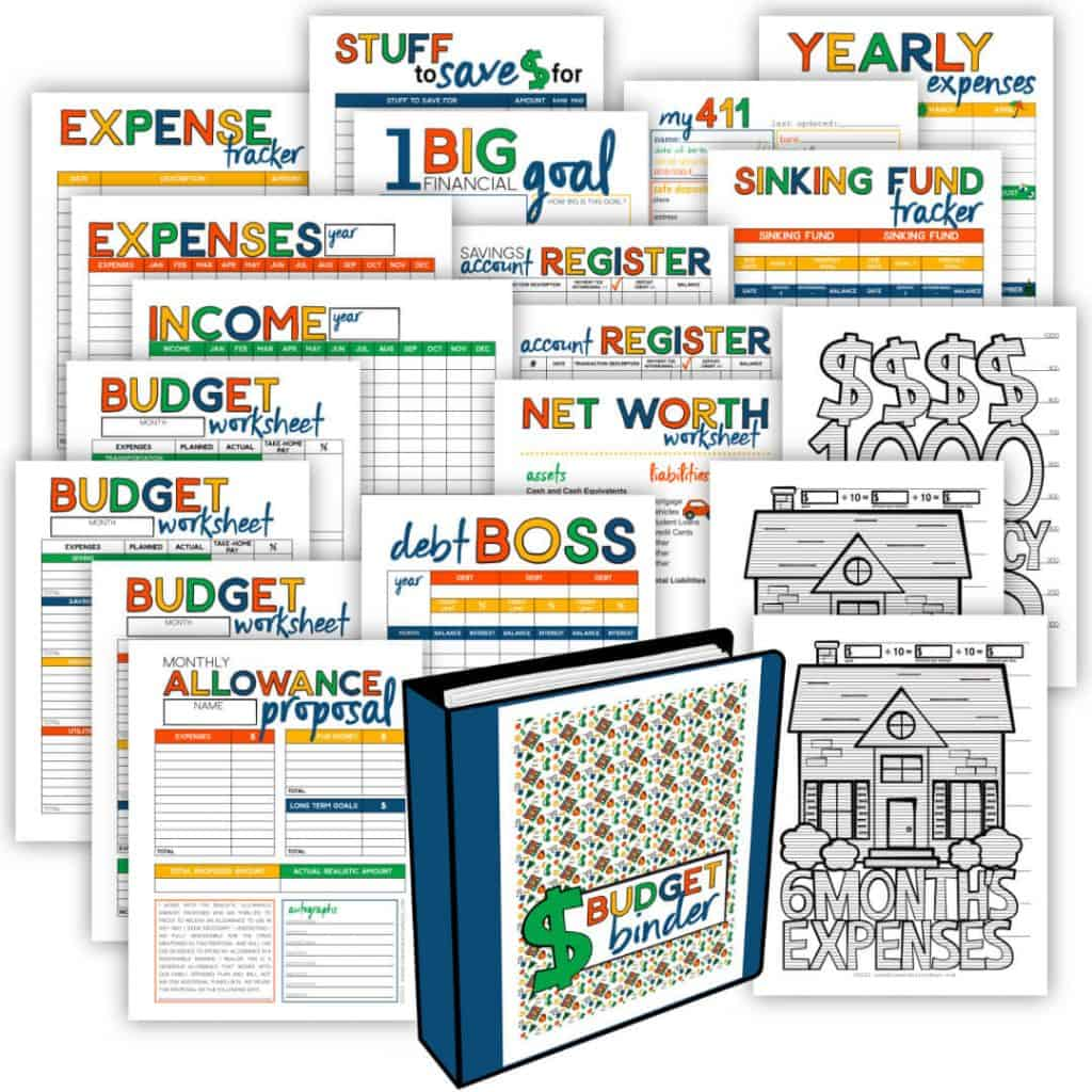 Budget Binder Printable Pages