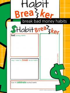 Habit Breaker Worksheet