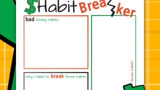 Habit Breaker Worksheet