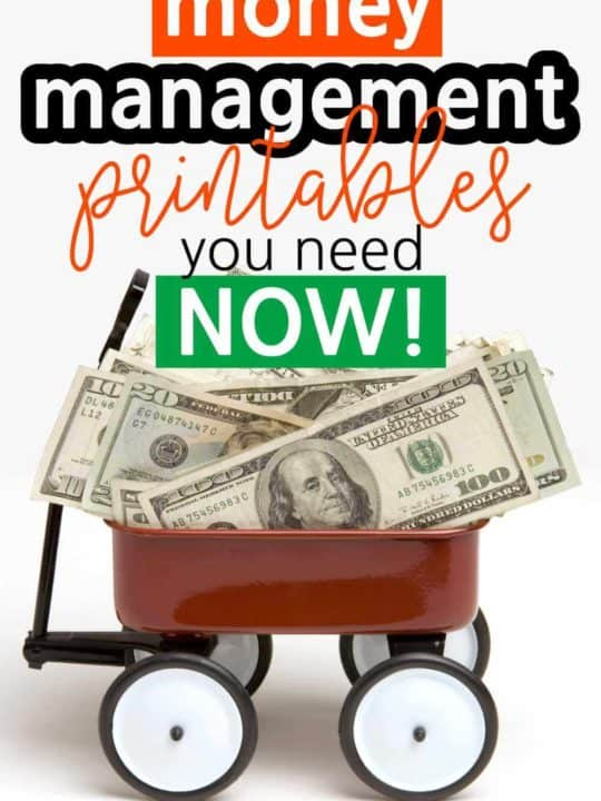 Money Management Printables You Need Now
