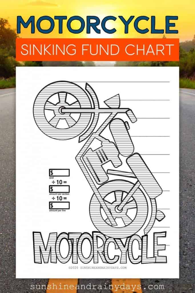Motorcycle Sinking Fund Chart
