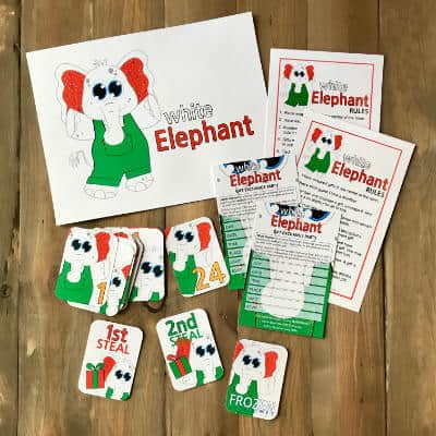 White Elephant Game Pack