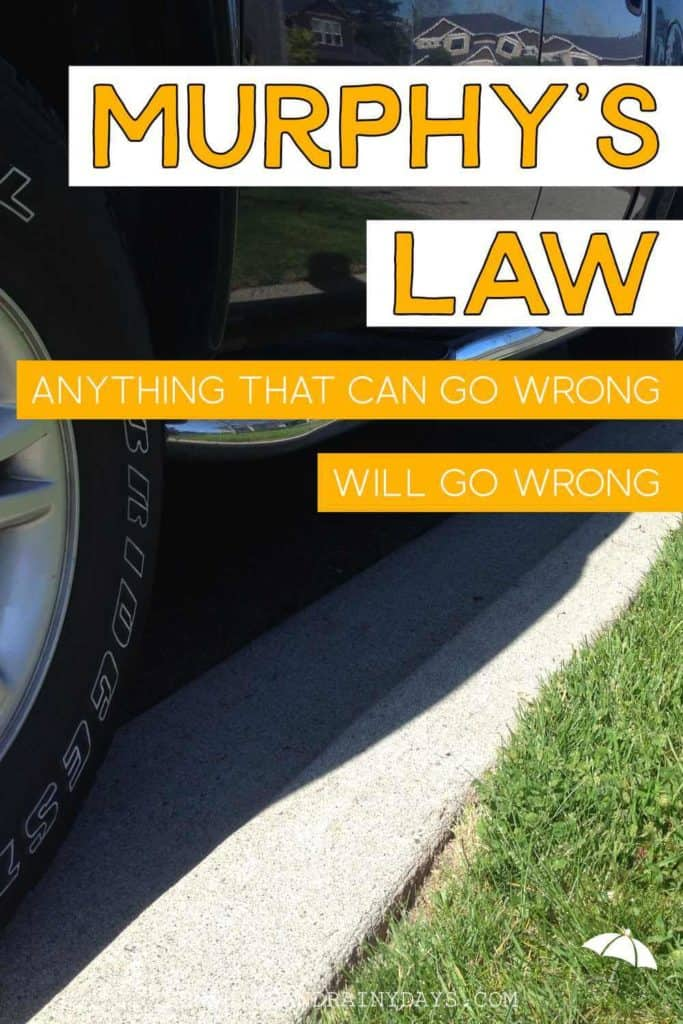Murphy's Law - Anything That Can Go Wrong, Will Go Wrong