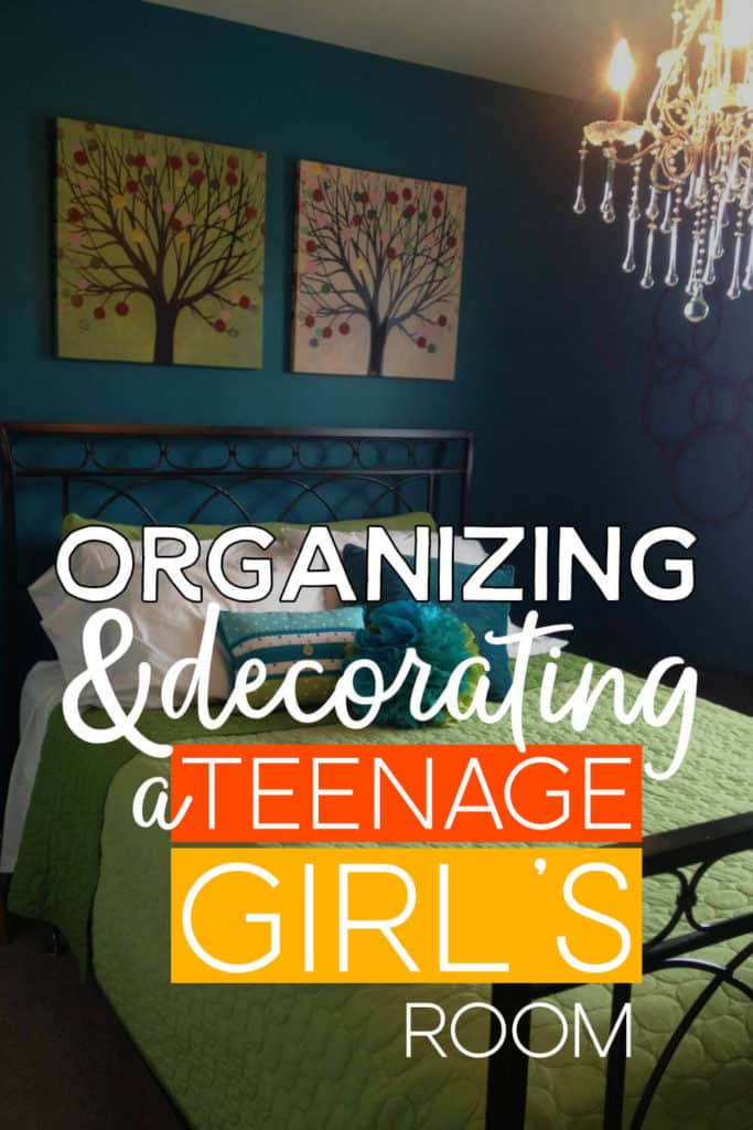 Organizing and decorating a teenage girl's room!