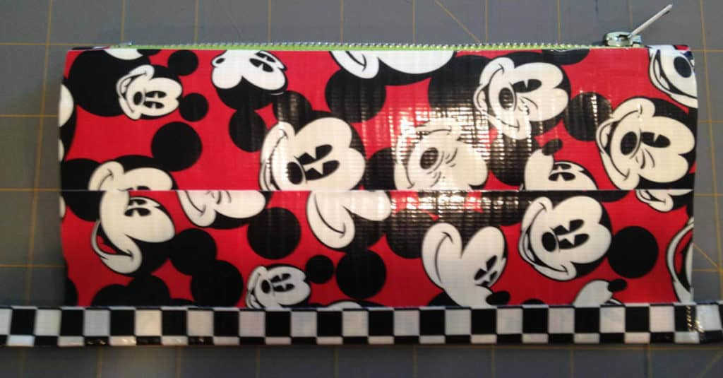 Trim placed on the bottom of the Zipper Pouch.