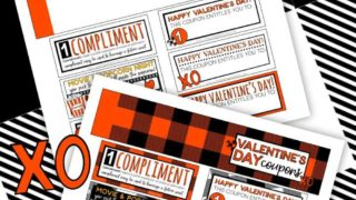 Valentine's Day Coupon Printables