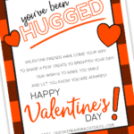 You've Been Hugged Printable