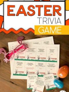 Easter Trivia Game Printables