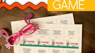 Easter Trivia Game Printables