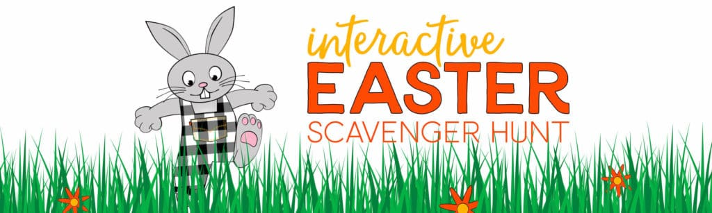 Interactive Easter Scavenger Hunt