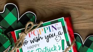 St. Patrick's Day Popcorn Printable
