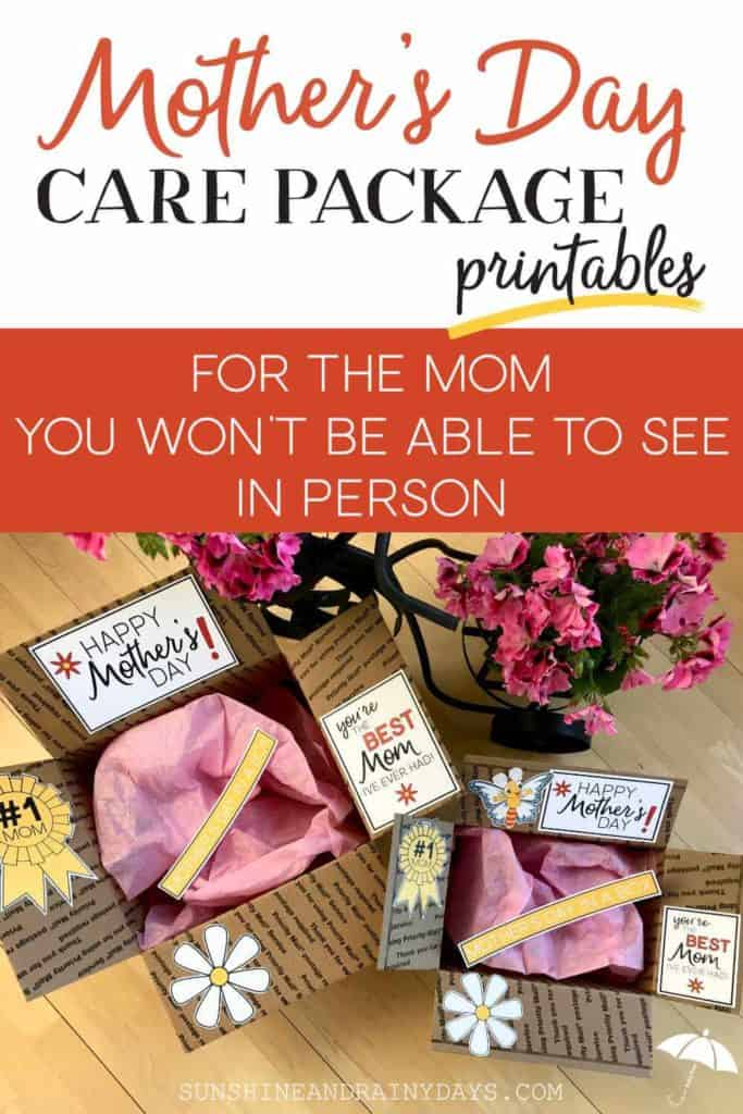 Mother's Day care packages.
